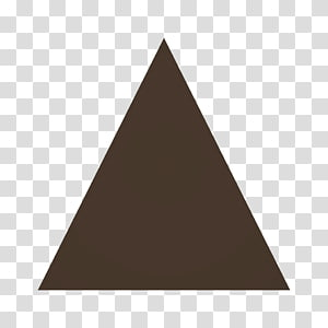Equilateral triangle Geometry Shape Tile, roofs PNG