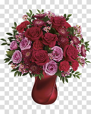 Flower bouquet Valentine\'s Day Floristry Gift, rich flowers PNG