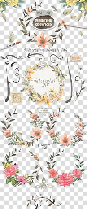 multiple wedding invitations cover PNG
