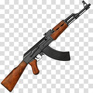 AK-47 7.62×39mm Firearm Assault rifle, ak 47 PNG