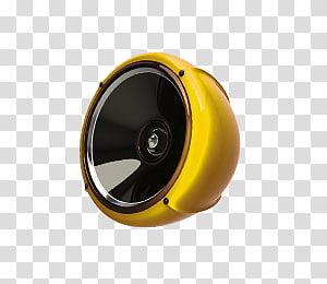 golden speaker PNG