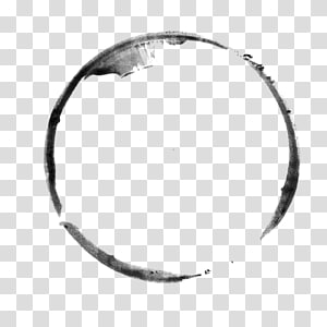 simple ink ink circle PNG