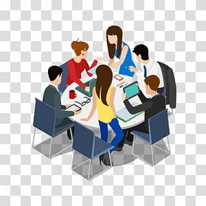 Brainstorming Idea Teamwork , office team PNG