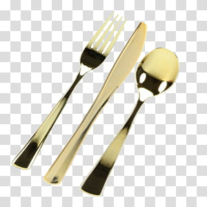 Wooden spoon plastic Silver Plate Cutlery, disposable cutlery PNG clipart