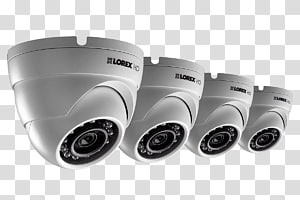 Wireless security camera Closed-circuit television Digital Video Recorders Security Alarms & Systems, dome PNG clipart