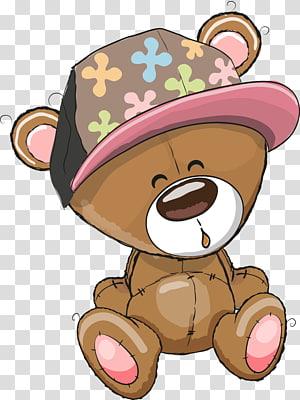 brown cartoon bear PNG clipart