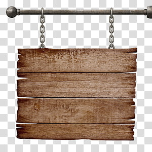 Chain, Brown woods, brown wooden board PNG