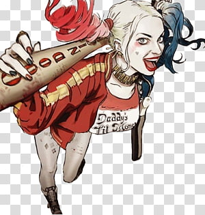 Harley Quinn Suicide Squad Joker Jared Leto Batman, harley quinn PNG clipart