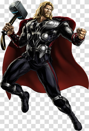 Marvel: Avengers Alliance Thor Iron Man Black Widow Odin, Hawkeye PNG clipart