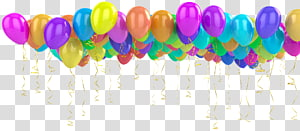 Toy balloon Helium Birthday Holiday, ball PNG