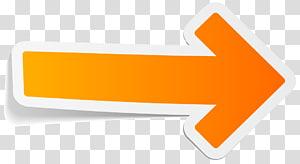 Orange arrow PNG