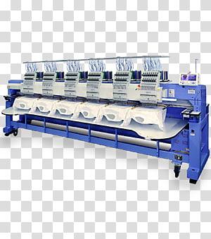 Machine embroidery Sewing Machines Screen printing, cutting machine PNG