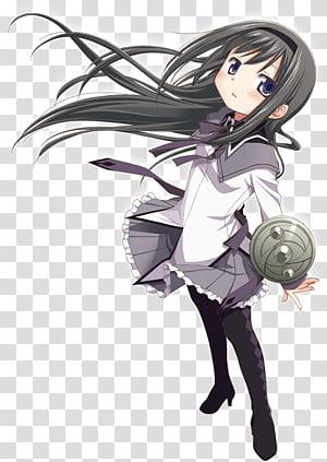 Homura Akemi Madoka Kaname Magical girl Character Anime, Anime PNG clipart