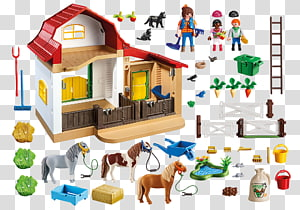 Playmobil Pony Farm Playmobil Pony Farm Playmobil Farm Horse, horse PNG clipart
