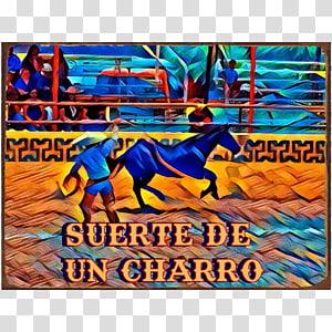 Art Poster Mural Recreation, Charro PNG