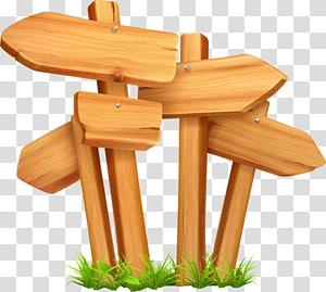 wood arrow PNG