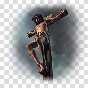 Bible Resurrection of Jesus Christian cross Christianity Preacher, Crucifixion PNG clipart