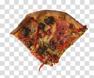 Sicilian pizza Ham Gratin Bread, A pizza PNG clipart