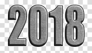 Vehicle License Plates Number Material Logo, 2018 happy new year PNG clipart