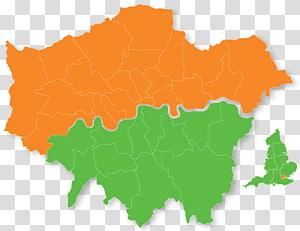 London Borough of Southwark London boroughs graphics Map, leatherhead surrey england PNG clipart