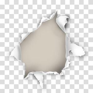 paper hole effect elements PNG