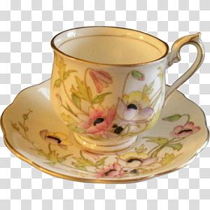Coffee cup Porcelain Saucer Teacup Tableware, mug PNG