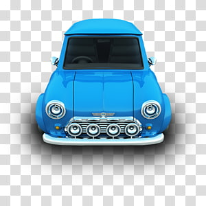 blue car, blue mini vehicle door automotive exterior, Mini PNG clipart