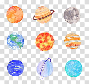 planet series PNG clipart