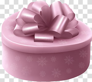 Pink Gift Box, Exquisite holiday gift box packaging PNG