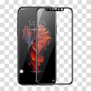 iPhone X Screen Protectors Mobile Phone Accessories Computer Monitors Tempered glass, Iphone X PNG