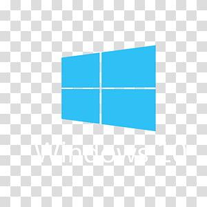 Windows 10 logo, Windows 10 Logo Computer Software, windows logos PNG