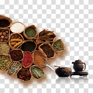 variety of spices, Congee Recipe Chinese food therapy Diet, Health PNG