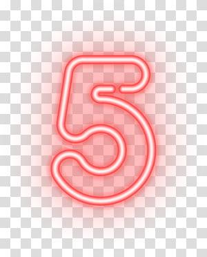 Number , Five Number PNG