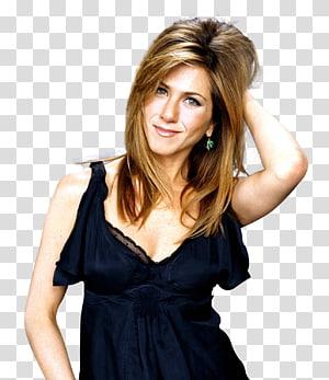 woman in blue sleeveless dress holding her head, Jennifer Aniston High-definition video 1080p , Jennifer Aniston PNG