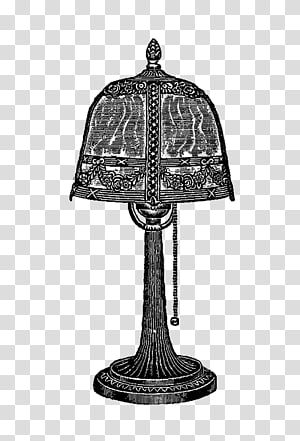 Oil lamp , desk lamp silhouettes PNG clipart