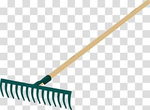 Hand tool Rake Garden tool, gardening tools PNG