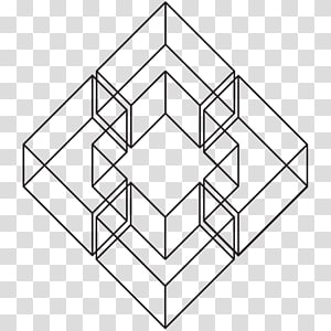 Symmetry Geometry Three-dimensional space Polygon Angle, geometric patterns PNG