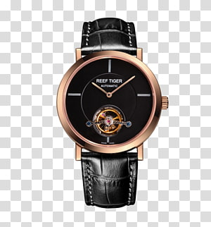 Automatic watch Tourbillon Mechanical watch Strap, watch PNG clipart