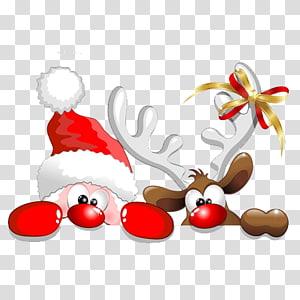 santa's reindeer PNG clipart