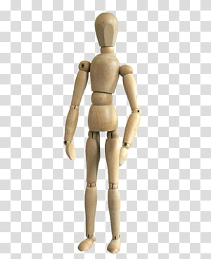 Mannequin Wood Puppet Tree Figurine, wood PNG