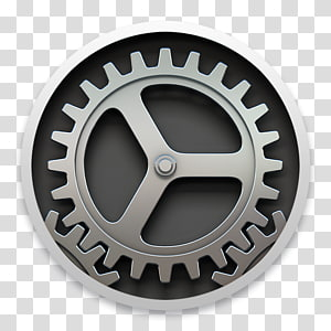 System Preferences macOS Computer Icons OS X Yosemite Operating Systems, gears PNG