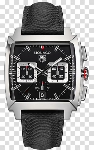 TAG Heuer Monaco Chronograph Automatic watch, watch PNG