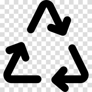 Recycling symbol Computer Icons Plastic, Arrow PNG