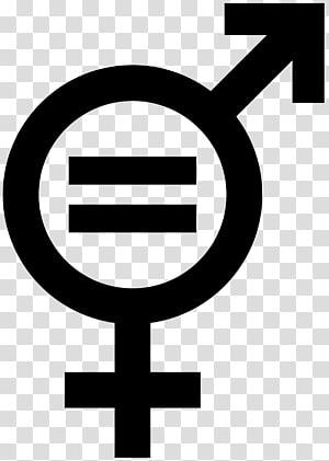 Gender equality Gender symbol Social equality, feminism PNG clipart