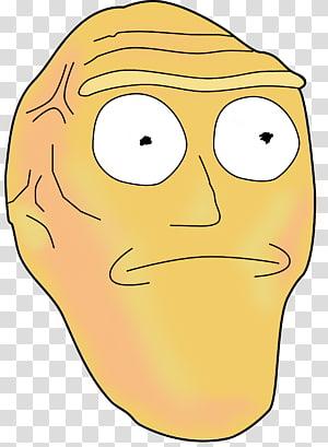 brown mask , Rick Sanchez Morty Smith Rick and Morty, Season 3 Rick and Morty, Season 2 Animation, rick and morty PNG