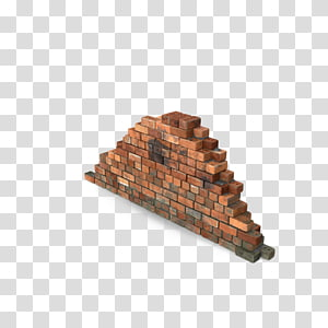 Brick Wall Rubble masonry Building, Hang dirty brick wall portion PNG clipart