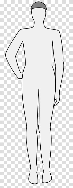 Silhouette Human body Finger , costume homme PNG clipart