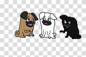 Cat Pug Character Font, Cat PNG clipart