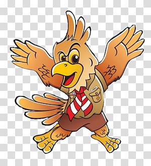yellow bird , Gerakan Pramuka Indonesia Scouting Kwartir Nasional Lambang Pramuka, garuda pancasila PNG clipart