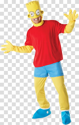 Bart Simpson Marge Simpson Homer Simpson Costume party, Bart Simpson PNG clipart